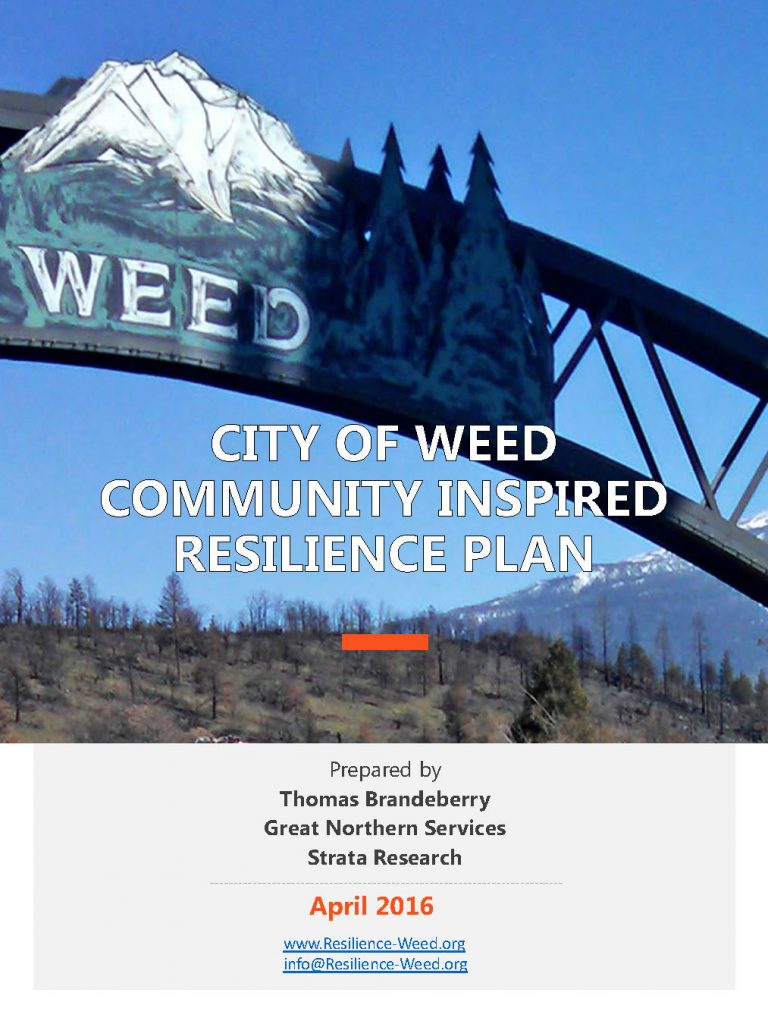 City of Weed Resilience Plan