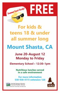 Youth's poster Mt. Shasta 2016