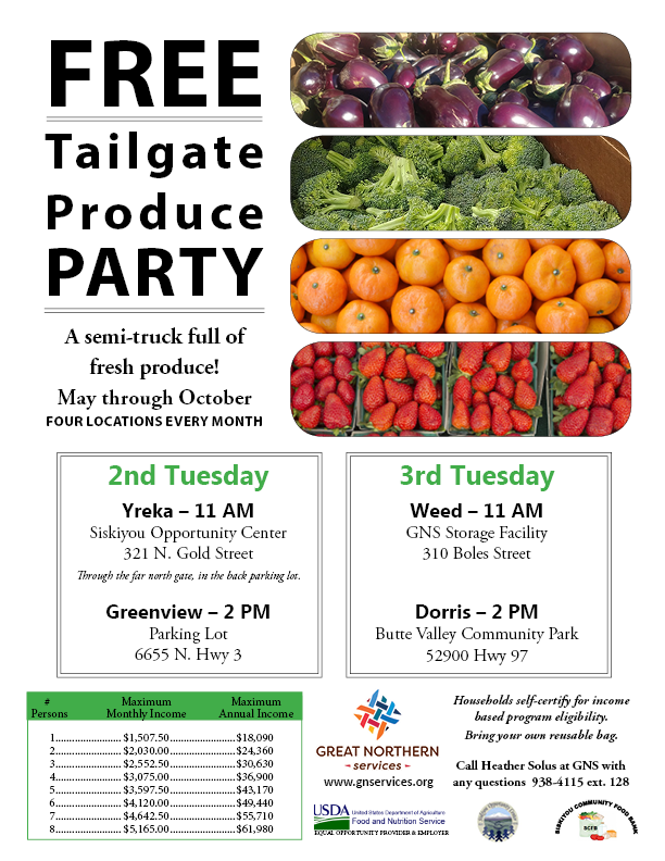 b931b5db1 Yreka Tailgate Produce Party – Great Northern Services